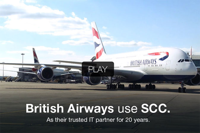 British Airways use SCC